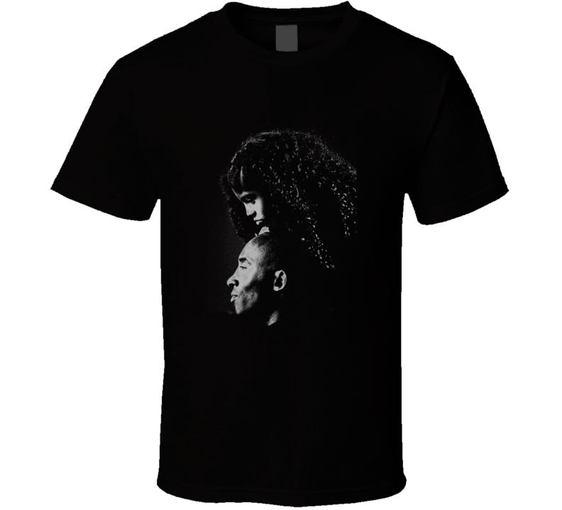 Kobe And Gianna Bryant Memorial Tribute T Shirt