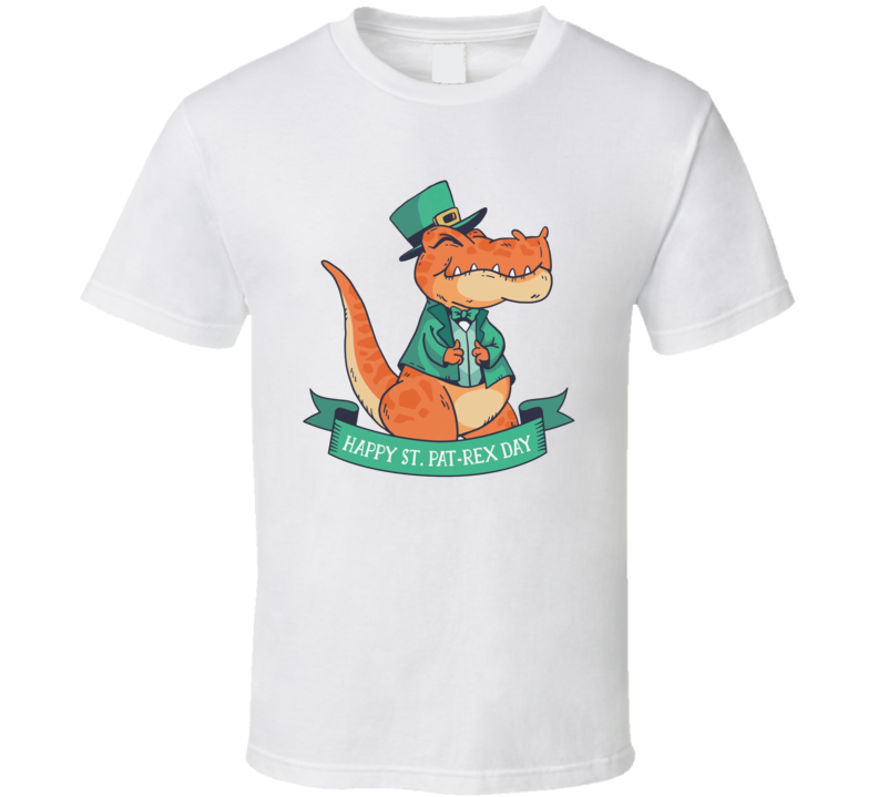 Happy St Patrex Patrick's Day T Shirt