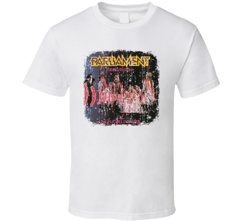 Parliament-Funkadelic 70s Disco Funk Band Old School Worn Look T Shirt