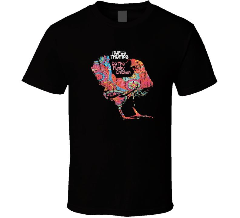 Rufus 70s Disco Funk Band Artist Old School Music Worn Look T Shirt