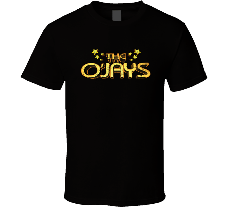 The O'Jays 70s Disco Funk Band Old School Music Worn Look T Shirt