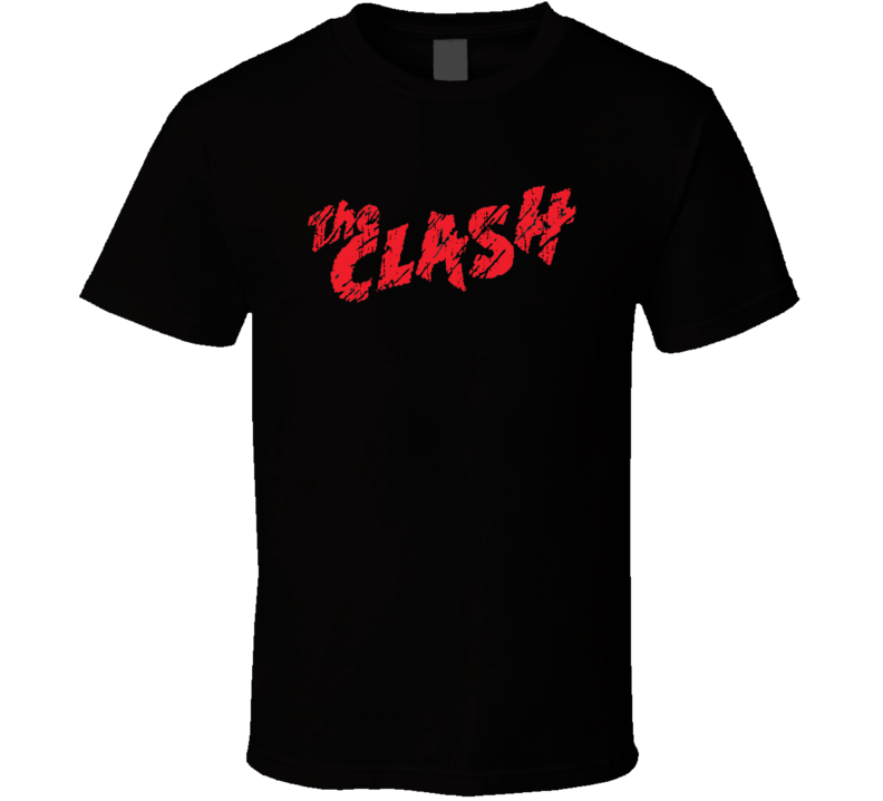The Clash 70s Classic Rock n Roll Vintage Band Worn Look Music T Shirt