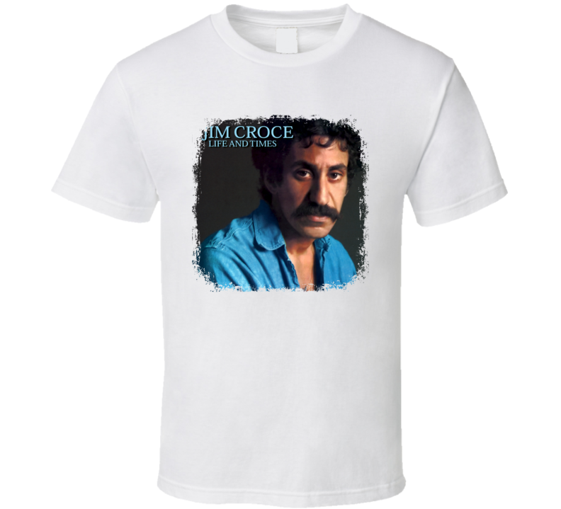 Jim Croce 70s Classic Rock n Roll Vintage Band Worn Look Music T Shirt