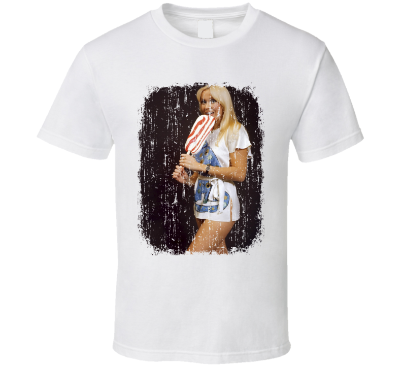 Agnetha Faltskog 70s Celebrity Icon Sexy Vintage Worn Look T Shirt