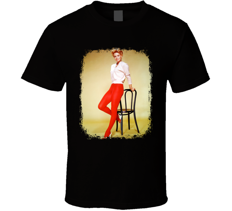 Angie Dickinson 70s Celebrity Icon Sexy Vintage Worn Look T Shirt