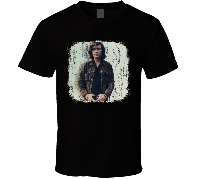 Kris Kristofferson 70s Celebrity Icon Sexy Vintage Worn Look T Shirt