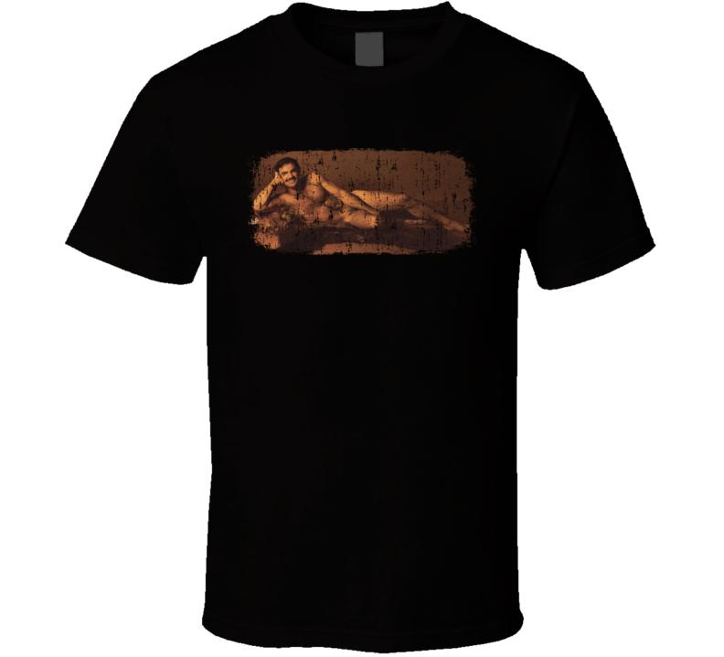 Burt Reynolds 70s Celebrity Heartthrobe Vintage Worn Look T Shirt