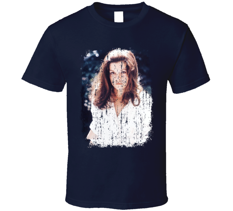 Genevieve Bujold 70s Celebrity Icon Sexy Vintage Worn Look T Shirt