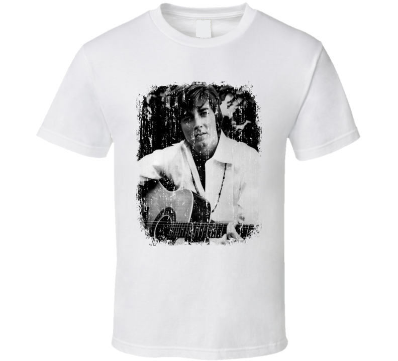 Bobby Sherman 70s Celebrity Heartthrobe Vintage Worn Look T Shirt