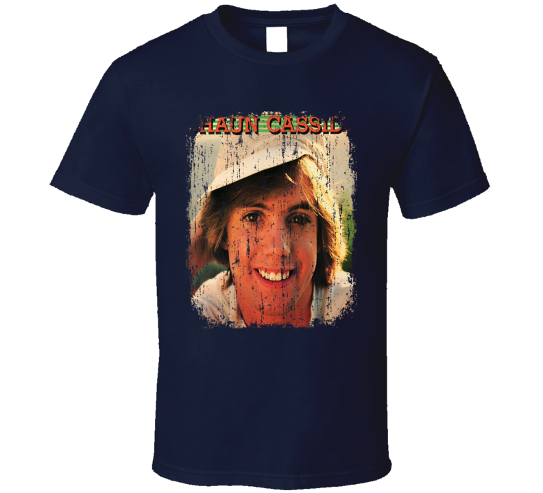 Shaun Cassidy 70s Celebrity Heartthrobe Vintage Worn Look T Shirt