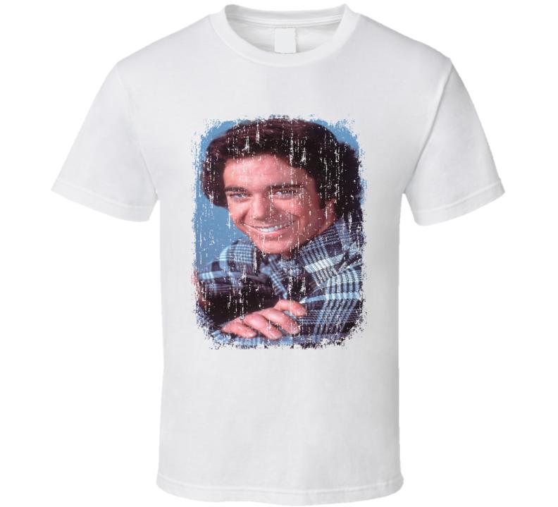 Barry Williams 70s Celebrity Heartthrobe Vintage Worn Look T Shirt