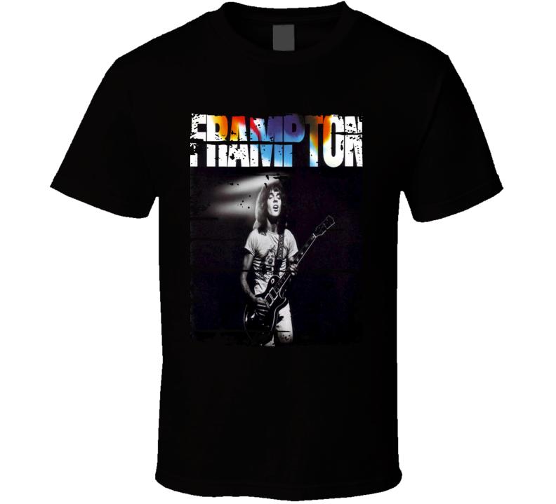 Peter Frampton Rock Music 70s Classic Album Cover Worn Look T Shirt