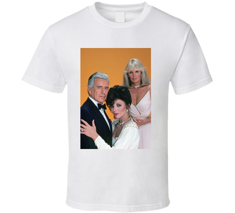 Dynasty 1980 Cristal Blake Carrington Alexis Colby Tv-series T Shirt