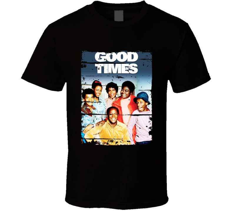 Good Times 70s Tv Show Cool Classic Worn Look Retro T Shirt