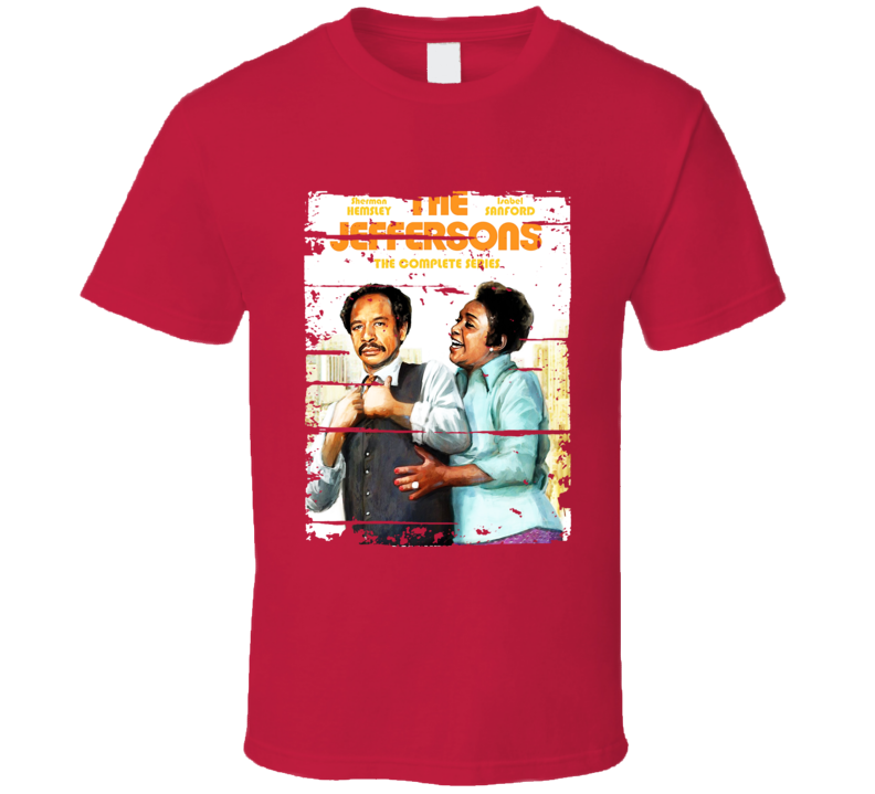 The Jeffersons 70s Tv Show Cool Classic Worn Look Retro T Shirt
