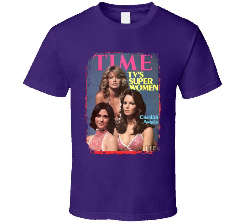 Charlie's Angels Best Tv Show Of The 70s T shirt