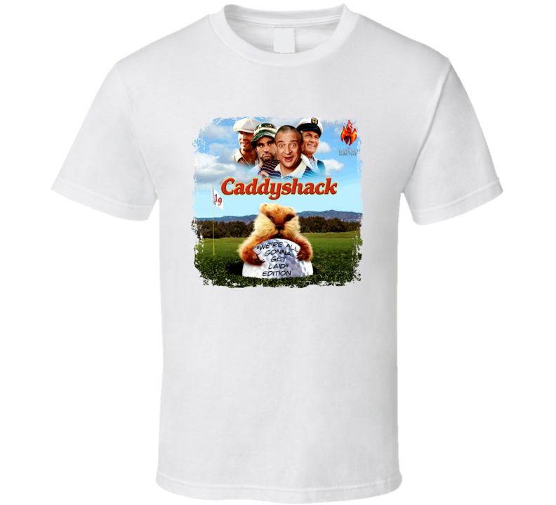 Caddyshack 70s Comedy Film T shirt