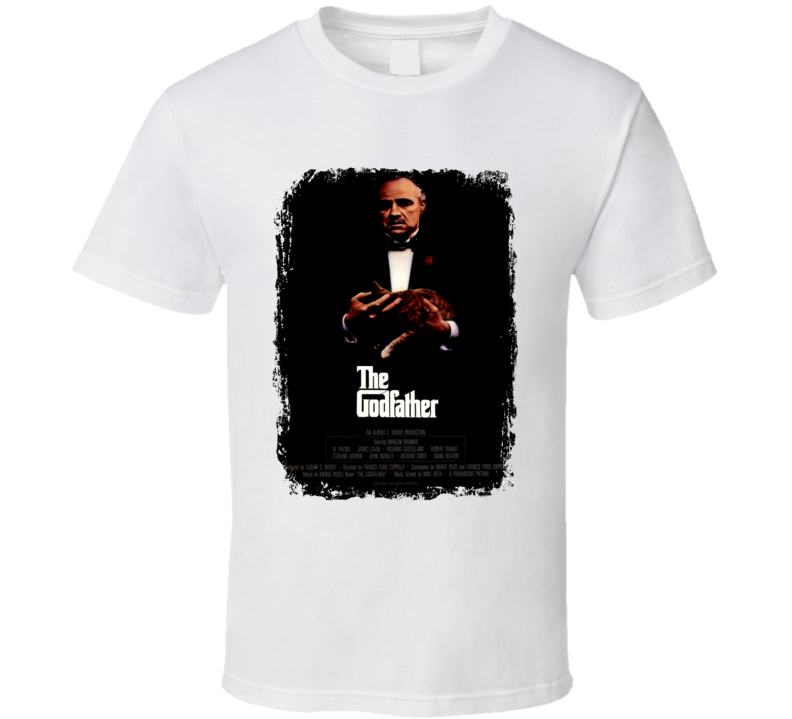 The Godfather Great 70s Movie T shirt