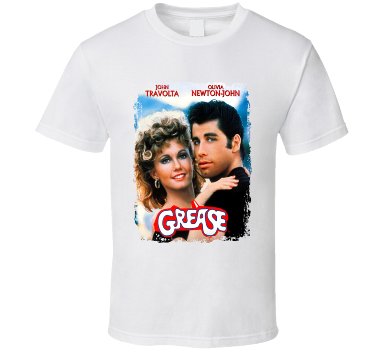 Grease Great 70s Movie T shirt