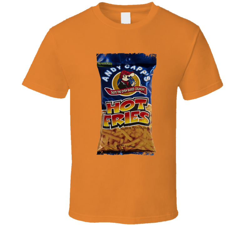 Andy Capp's Hot Fries 70s Candies T shirt