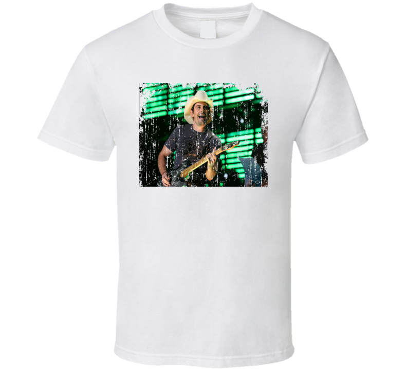 Brad Paisley Great Country Artist Fan  T shirt