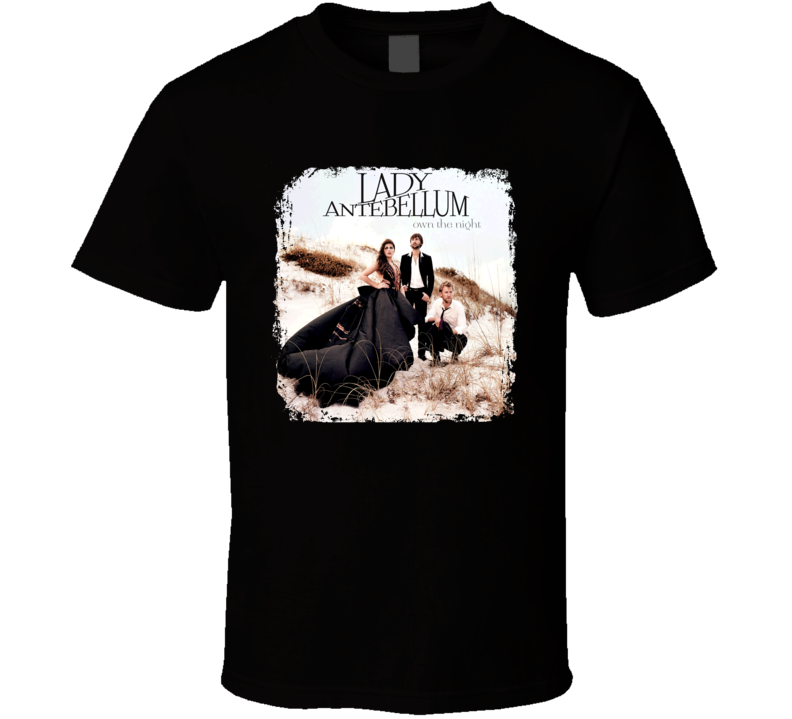 Lady Antebellum Great Country Artist Fan  T shirt