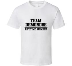 Team Demondre Lifetime Member Name Cool T Shirt