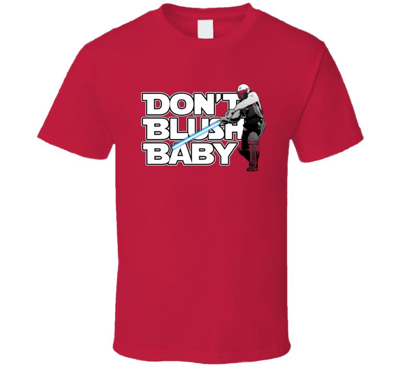Don't Blush Baby Chris Gayle Cricketer T Shirt