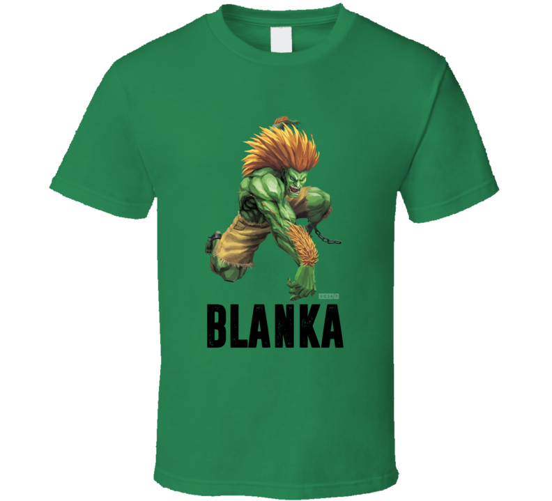 Blanka Street Fighter 2 Arcade Video Game T Shirt