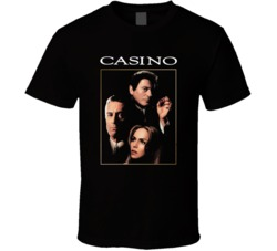Casino Movie Art Classic Gangster Movie T Shirt