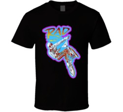 Rad Bmx Movie Retro T Shirt