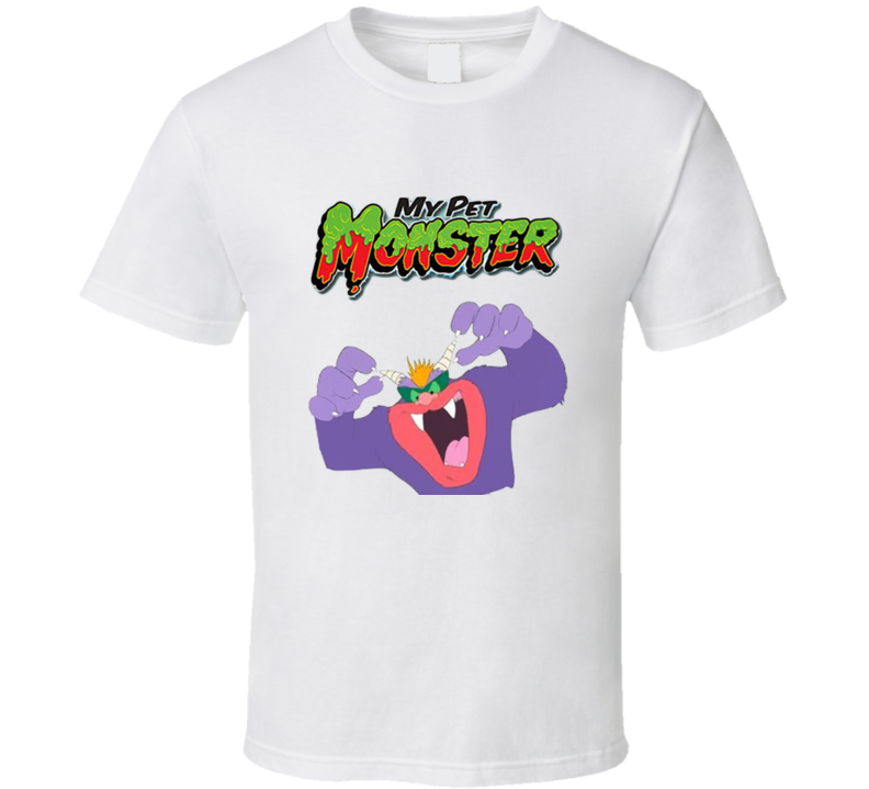 My Pet Monster Beaster Cartoon T Shirt