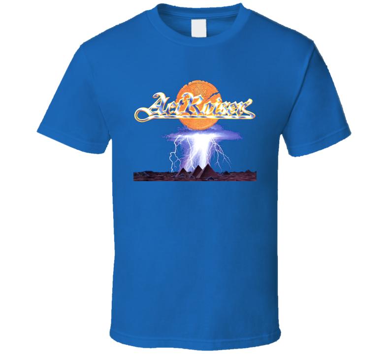 Actraiser Snes Classic Video Game T Shirt