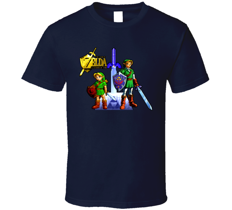 Ocarina Of Time Link Young And Old T Shirt