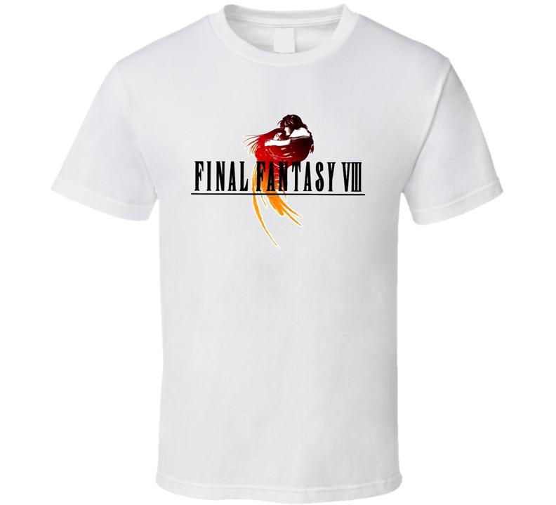 Final Fantasy VIII Retro Video Game T Shirt