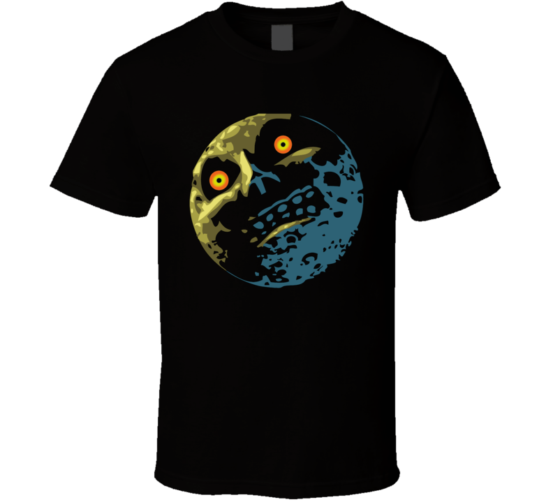 The Legend Of Zelda Majoras Mask Moon T Shirt