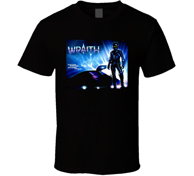 The Wraith 80s Sci Fi Movie T Shirt