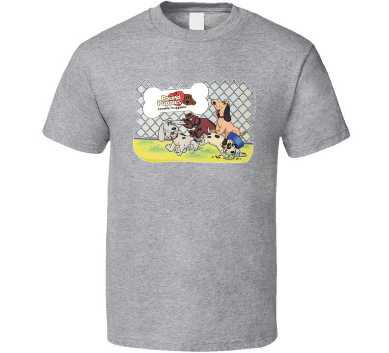 Pound Puppies 80s Cartoon T Shirt