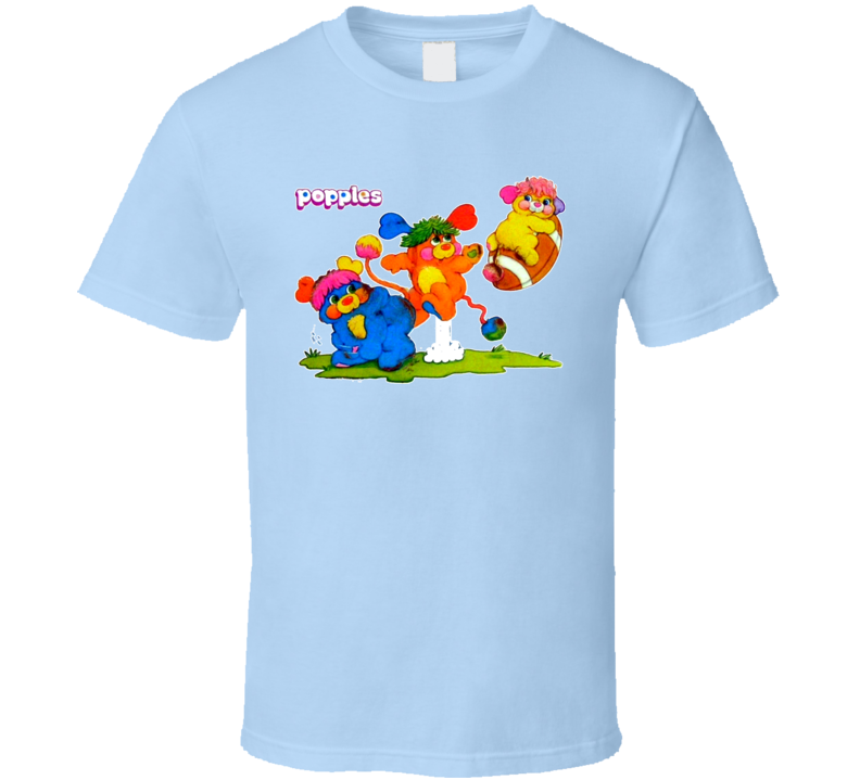 Popples 80s Cartoon T Shirt