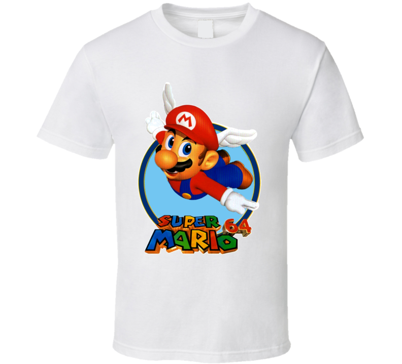 Super Mario 64 Nintendo 64 Retro T Shirt