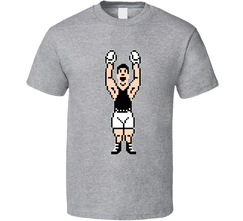 Mike Tyson's Punchout Little Mac 8 Bit Boxing T Shirt
