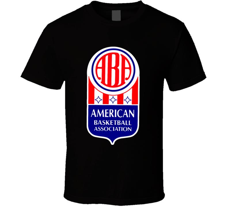 ABA American Basketball Association Logo Retro T Shirt