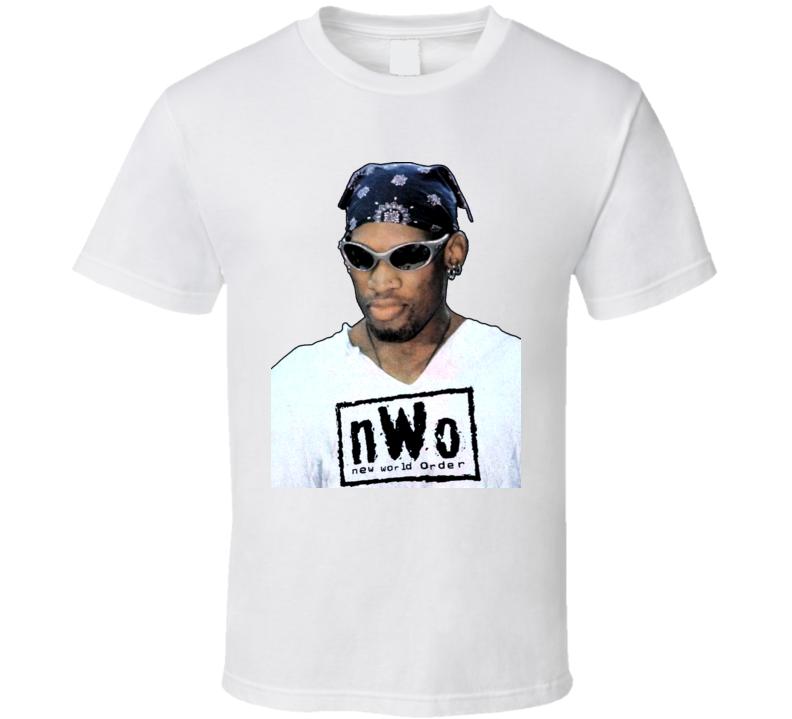 Dennis Rodman NWO WCW Wrestling T Shirt
