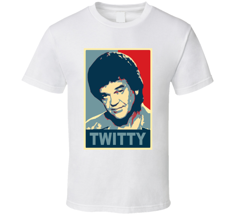 Conway Twitty Retro Country Music T Shirt