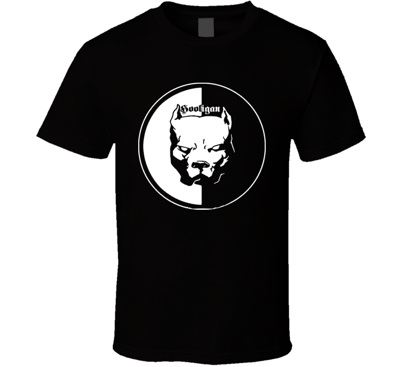 Soccer Hooligan Pit Bull T Shirt