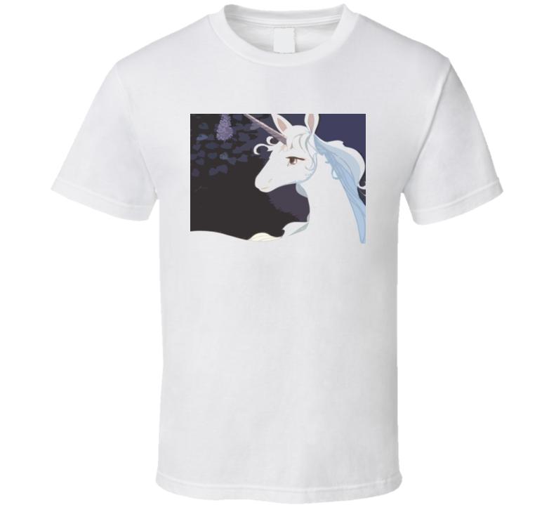 The Last Unicorn Cartoon T Shirt