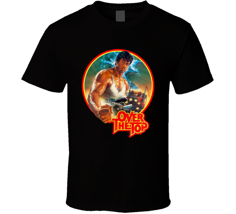 Over the Top Lincoln Hawk Stallone Retro Movie T Shirt