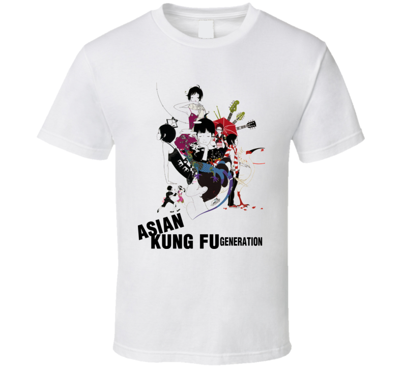 Asian Kung Fu Generation Music T Shirt