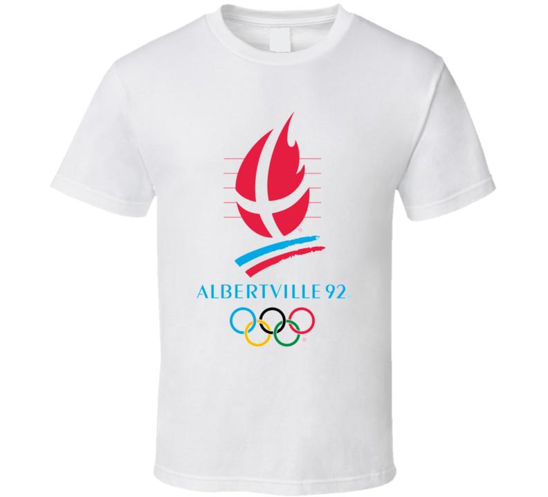 Albertville 1992 Winter Olympics T Shirt