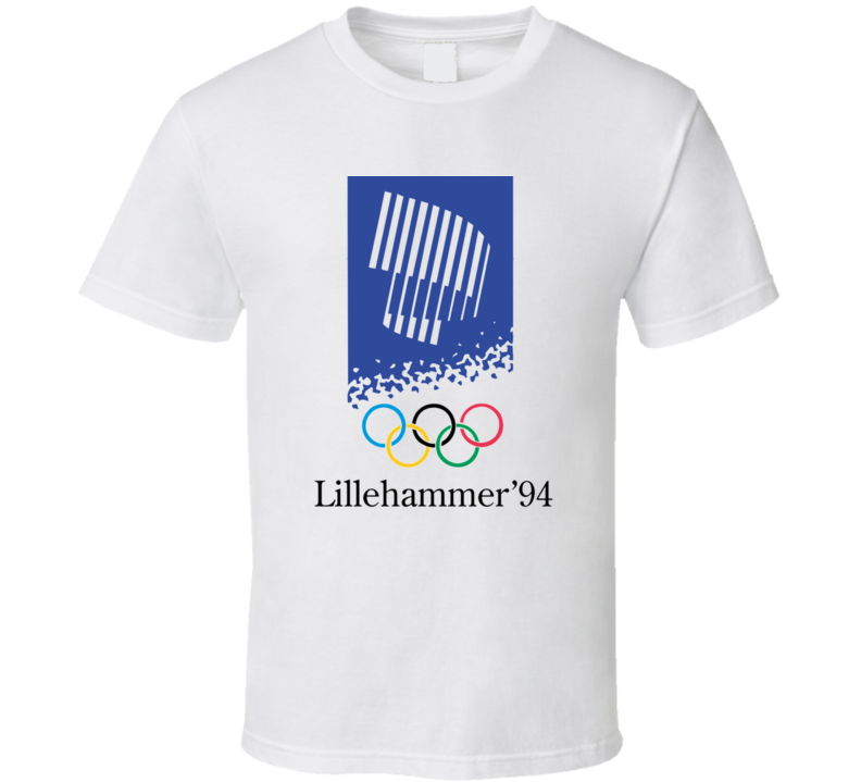 Lillehammer 1994 Winter Olympics T Shirt